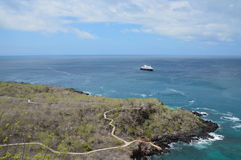 Landscape at San Cristobal Island - Galapagos Stock Photo