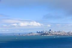 Landscape of San Francisco royalty free stock image