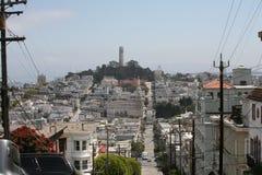 Landscape of San Francisco Stock Photography