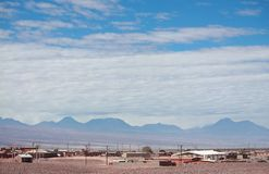 Landscape in San Pedro de Atacama (Chile) Royalty Free Stock Photos