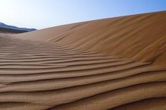 Landscape of sand dunes in the desert of Rub` Al Khali royalty free stock photography