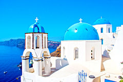 Landscape Santorini Royalty Free Stock Images