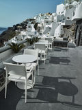 Landscape of Santorini Island, Fira, Cyclades, Greece Royalty Free Stock Image
