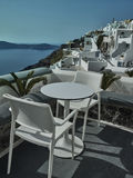 Landscape of Santorini Island, Fira, Cyclades, Greece Royalty Free Stock Photo