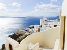 Landscape Santorini Island, Fira, , Greece. Landscape with sea of Santorini Island, Fira, Greece Royalty Free Stock Photo