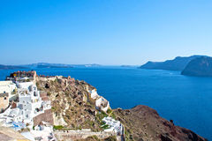 Landscape Santorini Royalty Free Stock Photos