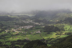 Landscape of Sao Miguel, Azores Stock Image