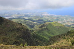 Landscape of Sao Miguel, Azores, Portugal Stock Photos