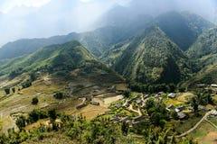 Landscape of Sapa, Vietnam