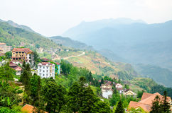 Landscape of sapa village Royalty Free Stock Image
