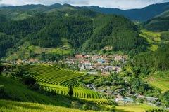 Landscape of sapa village,north of Vietnam. Stock Images