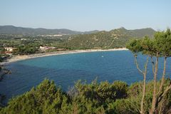 Landscape of Sardinia royalty free stock images