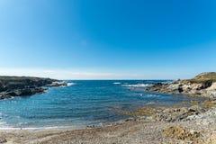 Landscape of sardinian coast. Of Coscia di donna, in north-west Sardinia, in a sunny day, sea, blue, travel, water, summer, nature, sardegna, mediterranean stock image