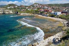 Landscape of the Sardinian coast Stock Photos