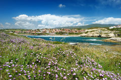 Landscape of the Sardinian coast Royalty Free Stock Images