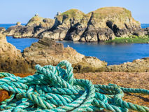 Landscape of the Sark Island, Guernsey, Channel Islands Royalty Free Stock Photos