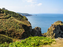 Landscape of the Sark Island, Guernsey, Channel Islands Stock Photo