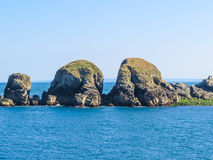 Landscape of the Sark Island, Guernsey, Channel Islands Stock Image