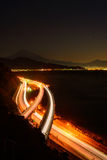 Landscape of the Satta pass at dawn in Shizuoka, Japan Stock Photos