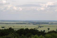 Landscape in Saxony Anhalt. In central Germany Stock Images
