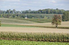 Landscape in Saxony, Germany Royalty Free Stock Photo
