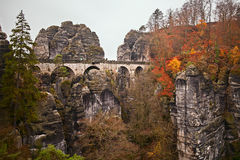 Landscape in the saxony switzerland Stock Photography