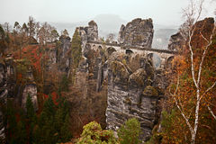 Landscape in the saxony switzerland Stock Photo