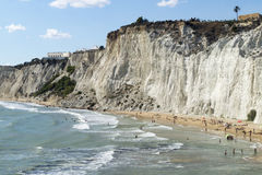 Landscape, scala dei turchi Stock Photos