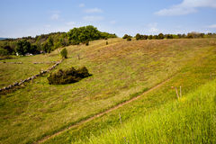 Landscape in Scania, Sweden Royalty Free Stock Photo