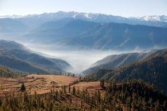 Landscape scenery around Jumla Royalty Free Stock Photography