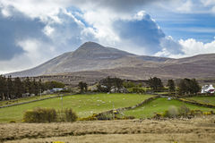 Landscape scenery at Donegal Ireland Royalty Free Stock Photo