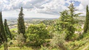 Landscape scenery in Italy Umbria Stock Image