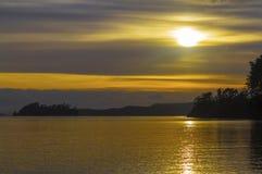 Landscape Scenery Scandrett Beach Auckland New Zealand during Sunrise Time royalty free stock image