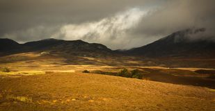 Landscape in Scotland Royalty Free Stock Photography