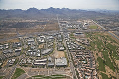 Landscape of Scottsdale Stock Photos