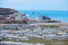 Landscape with the sea Royalty Free Stock Photography