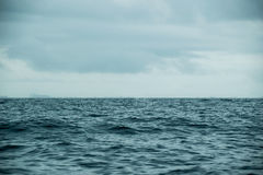 Landscape Sea ocean and  Cloudy sky during Royalty Free Stock Photos
