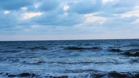The sea landscape stock footage
