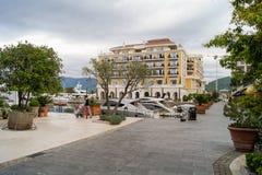 Landscape sea town. Stock Photo