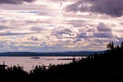 White Sea Kandalaksha Bay. royalty free stock image
