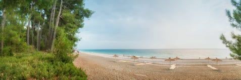 Landscape with sea views. Pitsunda, Abkhazia Stock Photography