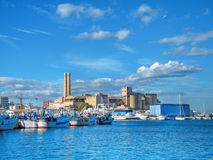 Landscape seaport. Monopoli. Apulia. Royalty Free Stock Photography