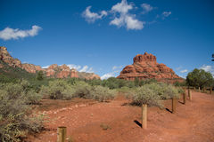 Landscape in Sedona, AZ Stock Images