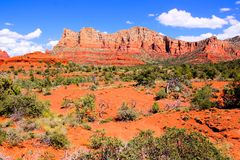 Landscape of Sedona, USA Stock Photo