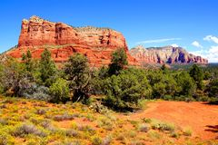 Landscape of Sedona, USA Royalty Free Stock Photography