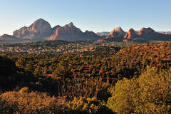 Landscape of Sedona valley Royalty Free Stock Photography
