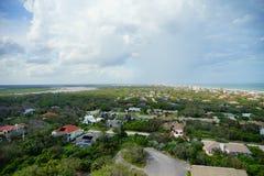 Landscape seen from Ponce de Leon lighthouse. Daytona Beach, Florida, USA Stock Image
