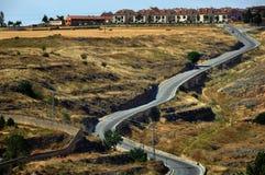 Landscape of Segovia Province Royalty Free Stock Photography
