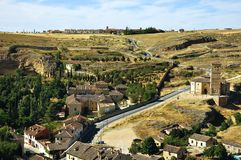 Landscape of Segovia Province Stock Photos