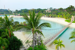Landscape in sentosa, Singapore Stock Photo